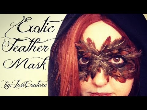 Feather Mask Tutorial
