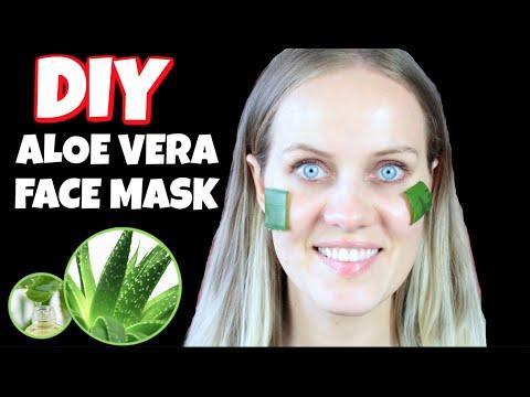 DIY aloe vera face mask NO Acne NO Wrinkles