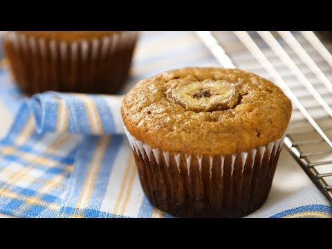 Banana Muffins- Everyday Food with Sarah Carey