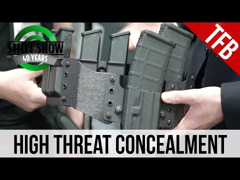 [SHOT 2018] High Threat Concealment's New Belt System and Double Stacked Mag Carriers