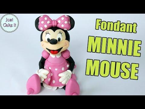 How to make fondant Minnie Mouse