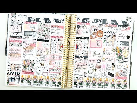 Chatty Memory Spread: SPC Planner Party!