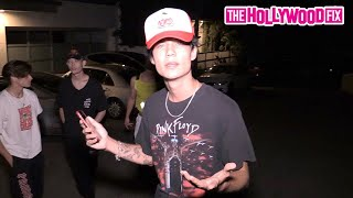 Jaden Hossler, Bryce Hall & The Sway House Confront Chase Hudson At The Hype House Mansion 7.6.20