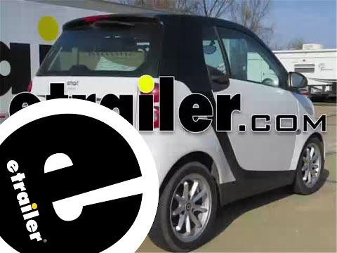 Installation Of A Trailer Hitch On 2009 Smart Fortwo Etrailer