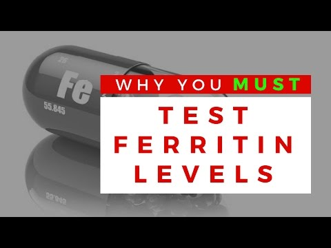 Why You MUST Test FERRITIN Levels ~EXCLUSIVE RESEARCH~