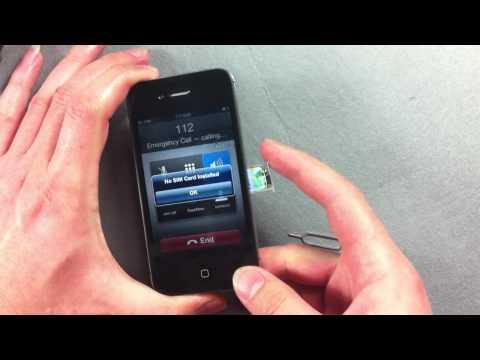 How to unlock iphone4s  use a gevey turbo sim card