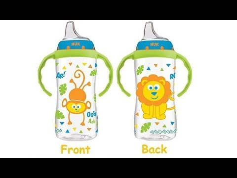 The Best Transition Cup For Toddlers, NUK Jungle Designs Learner Cup, 10 Ounce