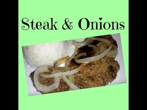 Bistec Encebollado | Steak & Onions