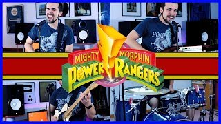 Mighty Morphin' Power Rangers Theme - METAL GUITAR COVER
