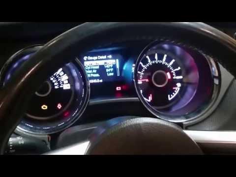 2013/2014 Ford Mustang Track Apps & Mycolor gauge cluster upgrade.