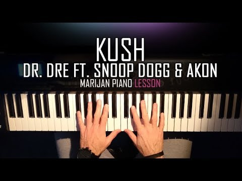 How To Play: Dr. Dre ft. Snoop Dogg & Akon - Kush | Piano Tutorial Lesson