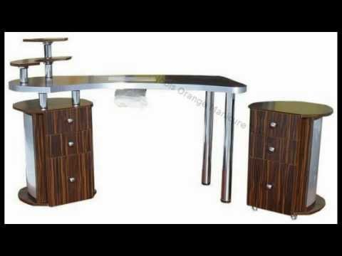 Manicure Tables 50 Beautiful Designs - Jools Orange
