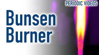 Bunsen Burner (THERMAL IMAGING) - Periodic Table of Videos