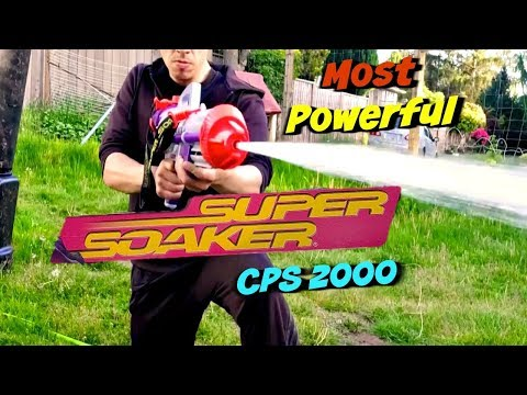 World's most Powerful Super Soaker ! CPS 2000 Super Soaker Series