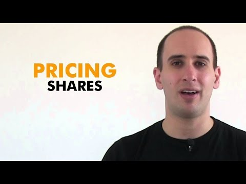 Shares Explained - How much should I price my shares?