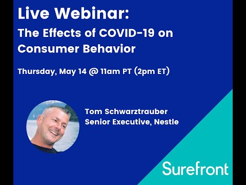 COVID-19 effects on consumer behavior - Live Webinar (5-14-20)