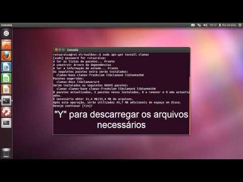 How to install Clam Anti-Virus in Ubuntu