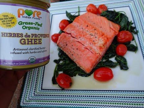 Herbs De Provence Wild Salmon & Veggies