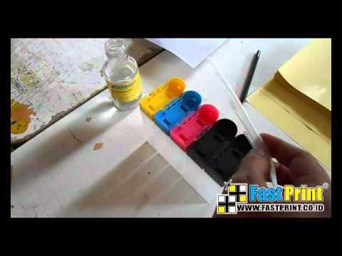 How to use ink hose   external ink bottle