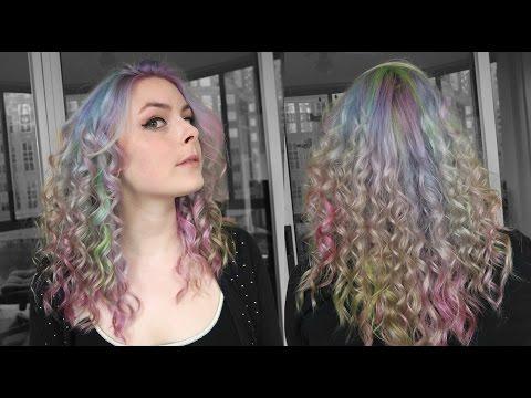 Opal Hair! Pastel Rainbow Hair Dyeing Tutorial Using Special FX Dye