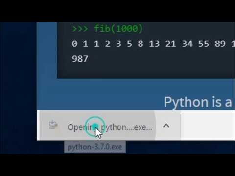 How to download & install Python on Windows 10