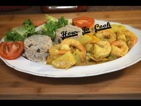 HOW TO MAKE THE BEST JAMAICAN CURRY SHRIMP RECIPE JAMAICAN ACCENT 2016