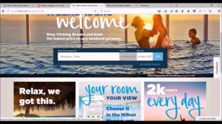 Hilton Hotel Rooms for Under $25 per Night