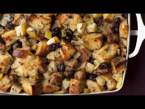 Ina's Sausage and Herb Stuffing   Food Network