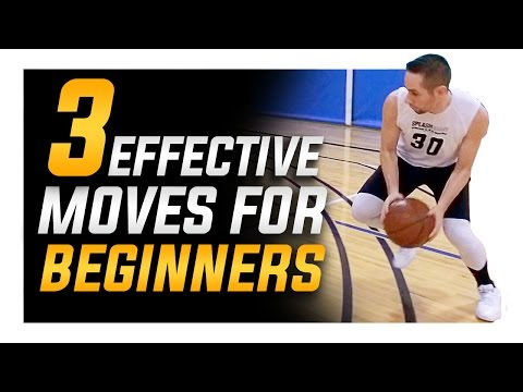 3 Crazy Effective Basketball Moves For Beginners