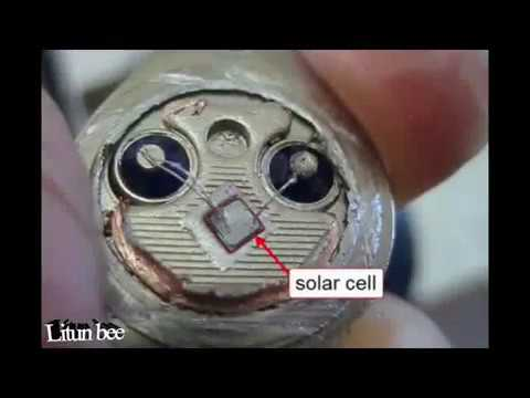 How to Make Solar cells energy Transistor using 2N3055