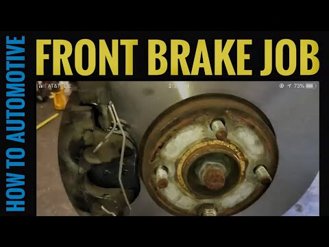 How to Replace Front Brake Pads and Turn Rotors on a 2005 Ford Focus ZXW