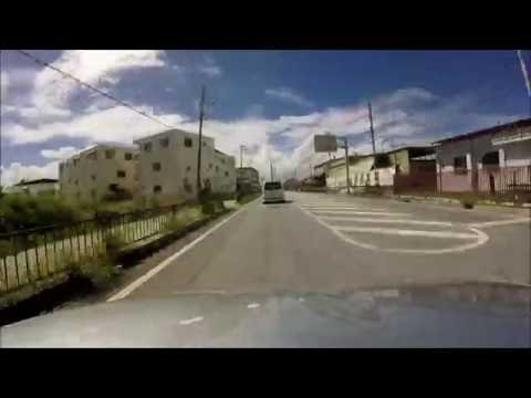 Driving in Okinawa, Japan (Camp Hansen to Camp Courtney)