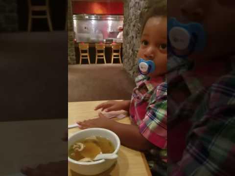 Not feeling the Benihana soup!