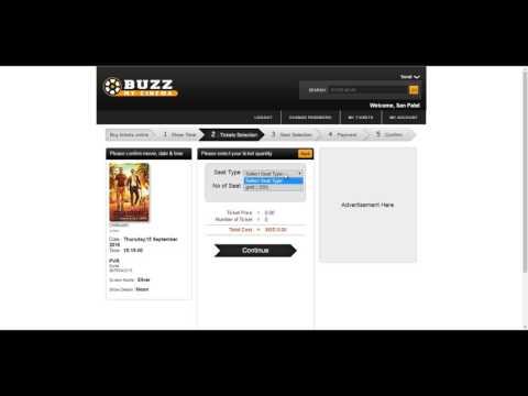 BuzzMyCinema - How to buy movie ticket in advance?