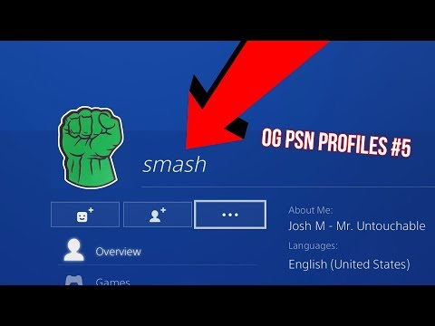 Looking at OG PSN PROFILES #5