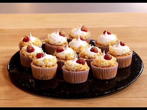 Raspberry Cheesecake Cupcakes | Afternoon Express | 19 April 2016