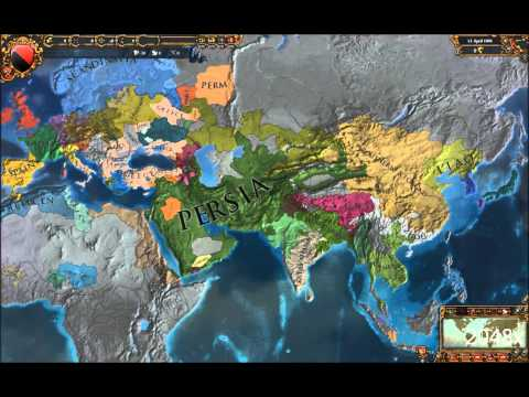 2,050 Years of Europa Universalis IV: An Extended Timeline Timelapse