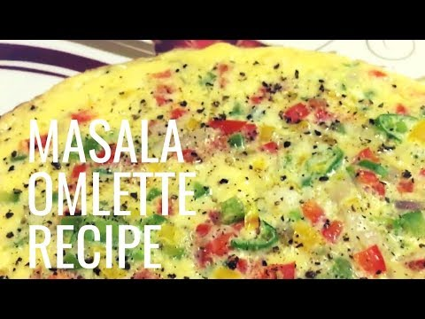 How to prepare Indian Egg Masala Omelette
