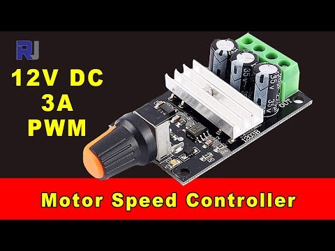 Test review of 12V 3A PWM DC motor speed controller