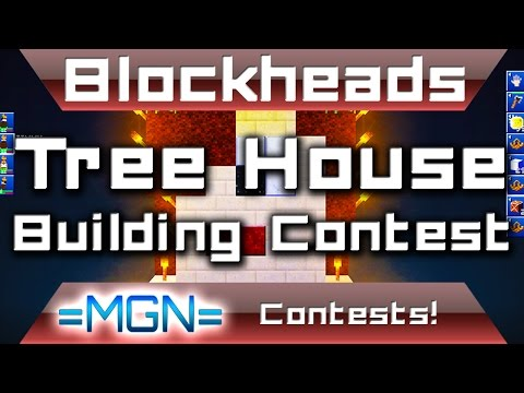 Blockheads - Tree House Building Contest!