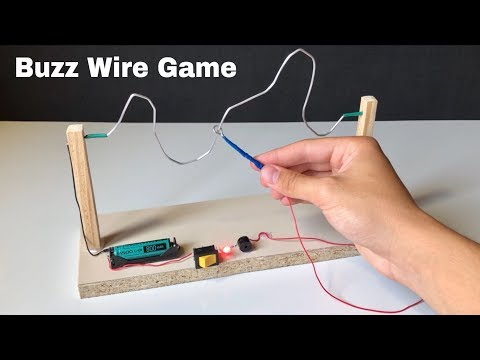 How to Make Amazing Buzz Wire Game at Home