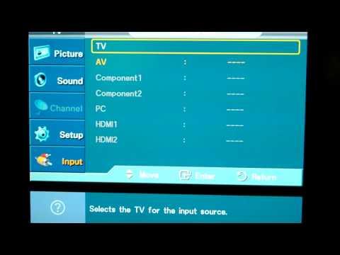 Solving the Samsung HDTV