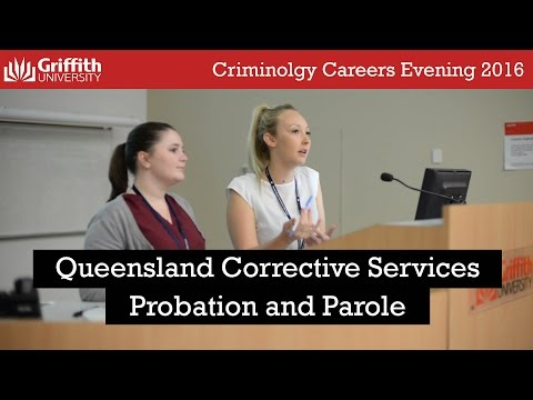 Probation and Parole - Careers Evening 2016