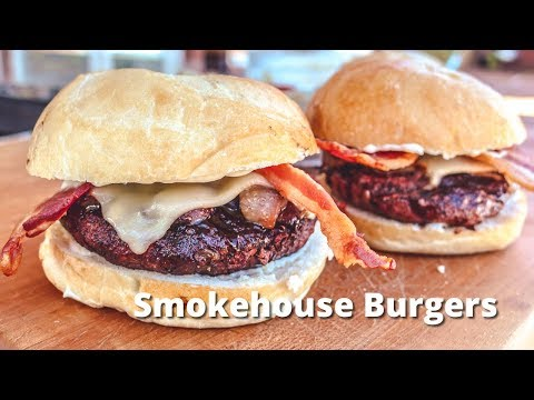 Smokhouse Burgers | Hickory Smoked Hamburgers on Big Green Egg