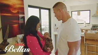 John Cena meets The Bella Twins