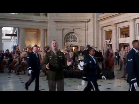 USAF Band Flash Mob 2015