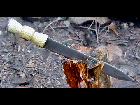 Making a Highland Dirk Dagger
