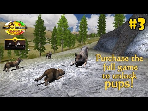WolfQuest Mobile 2.7.2 - Raise a Family - Android/iOS/Kindle - Gameplay Episode 3