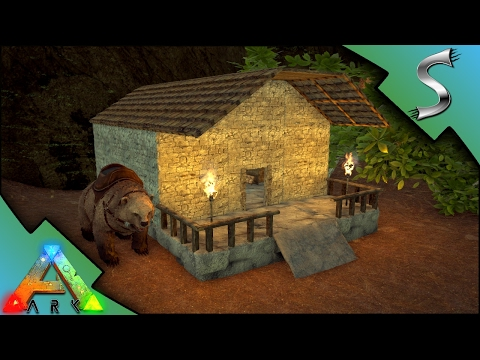 BEE FARMING SHED! BUILDING WITH CEMENT AND BRICKS! - Ark: Primitive Plus [Gameplay E10]