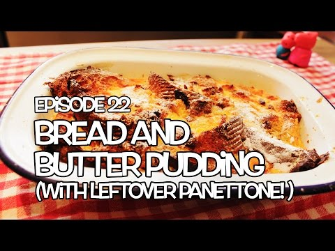 Leftover Panettone Bread and Butter Pudding Recipe - Tickly Mouth